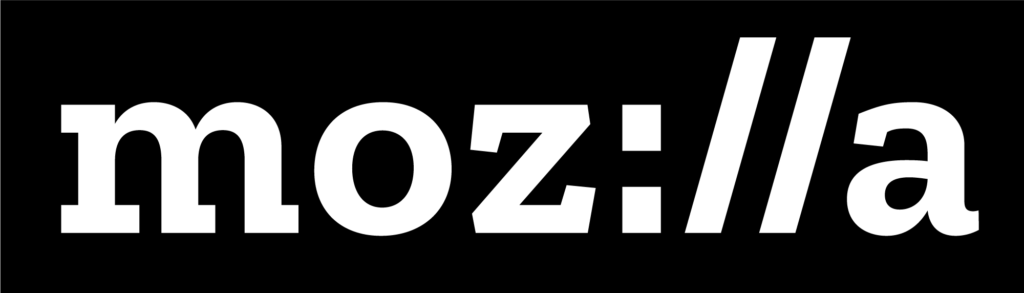 Mozilla Logo Black and White